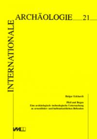 Espelkamp Verlag Marie Leidorf GmbH 1996 435 P Internationale Archaologie Bd 21