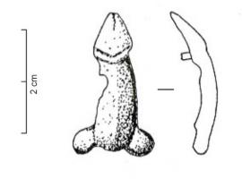 APH-4093 -  *  Si applica imbracatura : fallo&#013&#013 *  Applies harness shaped unglazed phallus.