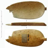 CUI-4041 - *  Ligula&#013&#013*  Accessory has large ligula oval, elongated , prolonged by a rod whose extremity prehension just support the convex back of the bowl of the spoon .