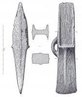 HCH-1103 - Hache à talon : type de Rosnoën